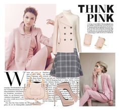 """""""Pretty in Pastel"""" by katsin90 ❤ liked on Polyvore featuring Paul & Joe Sister, Chloé, Yves Saint Laurent and Kate Spade"""