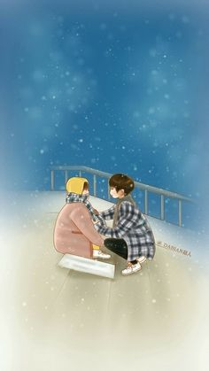 Cute Couple Art, Anime Love Couple, Couple Cartoon, Cute Couples, Weightlifting Fairy Kim Bok Joo Fanart, Weightlifting Fairy Kim Bok Joo Wallpapers, Kdrama, Cartoon Wallpaper, Kawaii Wallpaper