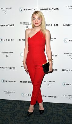 Dakota Fanning is never afraid to turn heads by pulling off multiple trends in one look.