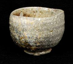 Touching Stone Gallery Japanese Tea Bowl used in the tea ceremony which epitomizes a quiet aesthetic sensibility ~ wabi-sabi.