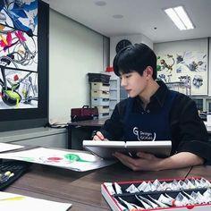 Teen Web, Teen Wallpaper, Chines Drama, Cover Boy, Web Drama, Cute Korean Boys, Weightlifting Fairy, Woollim Entertainment, Kuroo