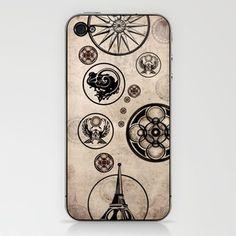 Vintage Dreams iPhone & iPod Skin by ivette