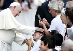 Hd.clarin.com |  Francis Pope during the general audience on Wednesday in St. Peter's Square at the Vatican.  (REUTERS)