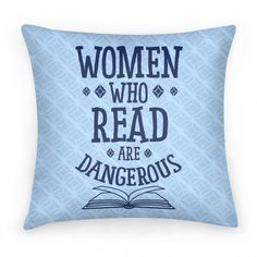 No matter what you like to read, everyone can agree that nothing is better for arming yourself intellectually than spending time with a good book, doing some research, or just browsing the library.... | Beautiful Designs on Pillows, Pillow Cases, Outdoor Pillows and Throw Pillows with New Items Every Day. Satisfaction Guaranteed. Easy Returns.