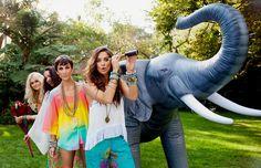 A Whole Mu World ~ Summer 2014 #fashion #summer #editorial #boho #girl #style #friends #jewelry #hair #elephant #love #iheartit