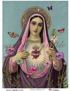 Virgin Mary of Sorrows - Seven