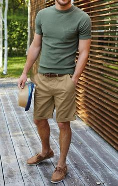 25 Ideas fashion mens summer casual outfits khakis for 2019 Sharp Dressed Man, Well Dressed, Justice Joslin, Celebridades Fashion, Brown Boat Shoes, Casual Wear, Men Casual, Look Man, Neue Outfits