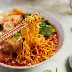 Spicy Wonton Noodle Soup - Marion's Kitchen