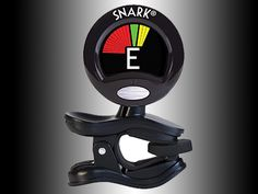 The Snark Clip-On Tuner with a frequency range tailored to the guitar, bass, and violin, plus a newly redesigned processing chip, tuning is fast and accurate.