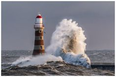 The storm and tide surge of January 2017 was rather special. I was out all day taking pictures big wave, it seemed like each big wave was the biggest. I took hundreds of shot this day, and its hard to pick the one to show. Here is one I like for the sheer power of the wave. The sunderland lighthouse built in 1903 stands at a hight of 23 metres. What are the seagulls doing!