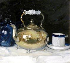 John Duncan Fergusson - The Brass Kettlepar