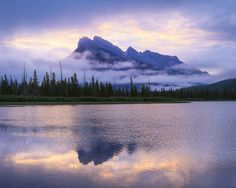 Chris Tennant - Tennant almost abandoned his Vermilion Lakes, Banff, post, but patience paid off when the clouds parted. Canon EOS 5D Mark II and 24–105mm f/4L Canon EF lens; 1/6 sec at f/11, ISO 320.