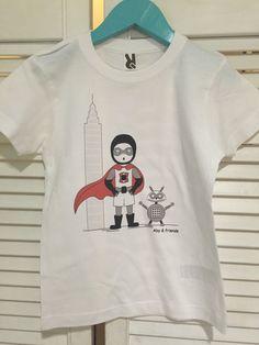 Un favorito personal de mi tienda Etsy https://www.etsy.com/es/listing/276670468/camiseta-nino-algodon-manga-corta