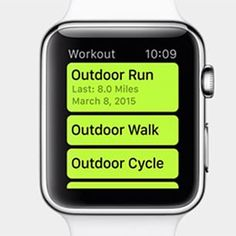 """""""It's like having a coach on your wrist"""" - Tim Cook #AppleWatch #UpNOut'"""
