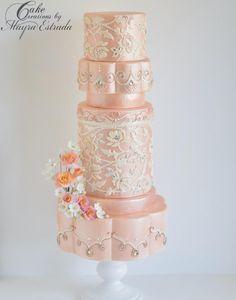 SRI LANKA BRIDE by Cake Creations by ME - Mayra Estrada