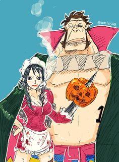 One Piece, Sai, Baby 5. | one piece