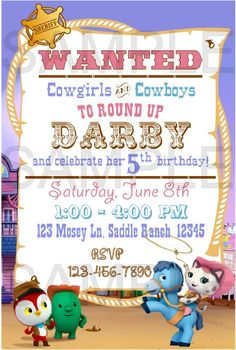 Sheriff Callie S Wild West Birthday Party Ideas Free Printable