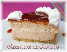 Los Inventos de Lisa: Cheesecake de Guayaba