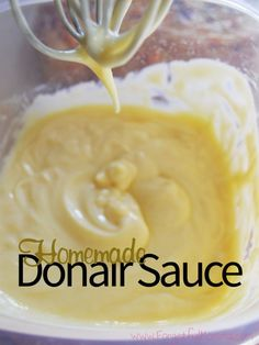 There are some things that we just can't get here, like Donair Sauce from Nova Scotia, garlic fingers, seafood. Ah, the great food. Donair Meat Recipe, Donair Sauce, Marinade Sauce, Sauce Recipes, Meat Recipes, Cooking Recipes, Cooking Tips, Recipies, Yummy Recipes