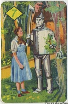 1 of 44 cards from 1939 The Wizard of Oz Card Game on Immortal Ephemera http://745433944.r.lightningbase-cdn.com/wp-content/gallery/1940-wizard-of-oz-card-game/07b.jpg