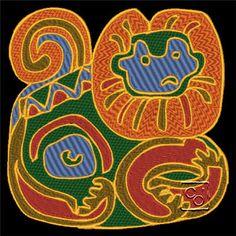 Mayan Design 10 http://cindysembroiderydesigns.com/Cultural-Art-Collection-5.html