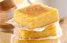 Receitas típicas de Festa Junina: bolo cremoso de milho