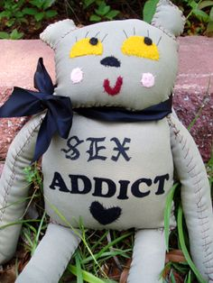 sex addict: another awesome creation by my friend jennie mae :)
