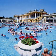 szechenyi baths -Budapest