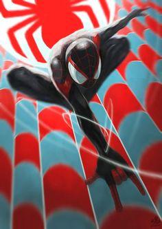 Spider Jump by Ry-Spirit on DeviantArt Comic Book Characters, Marvel Characters, Comic Character, Comic Books Art, Comic Art, Character Design, Marvel Comics, Marvel Heroes, Spiderman Art