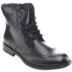Delli Aldo Men's 'M3-828' Lace-up Military Boots