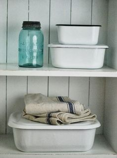 enamelware bins - Google Search