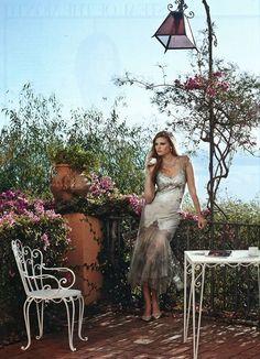 @Vogue Magazine-Marchesa Spring 2014