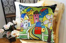 Decorative velvet pillow cushion cover.   abstract original design by Karla Gerard