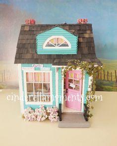 The Donut Shop Custom Dollhouse by cinderellamoments on Etsy, $499.00 SOLD