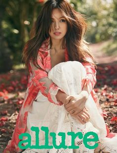 Lee Hyori's Goes Green For Allure Korea's April 2014 Issue