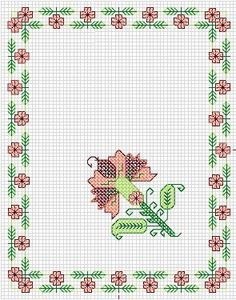 Cross Stitch Borders, Cross Stitch Patterns, Bargello, Diy And Crafts, Embroidery, Indian Embroidery, Towels, Cross Stitch, Tricot