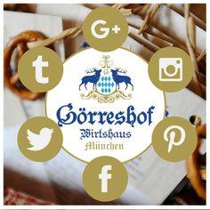 Den Goerreshof koennt Ihr in Zukunft auch auf Twitter, Pinterest, Tumblr,  Google+ und Instagram verfolgen.    Baur   www.goerreshof.de ##goerreshof #wirtshaus #restaurant #bayrish #biergarten #muenchen #schwabing #bayerisches #augustiner #maxvorstadt #Muenchen