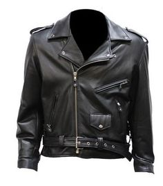 Special Offers - Big Mens Top Grade Leather Motorcycle Jacket (Size SM 40) - In stock & Free Shipping. You can save more money! Check It (May 14 2016 at 04:46AM) >> http://bestsportbikejacket.com/big-mens-top-grade-leather-motorcycle-jacket-size-sm-40/