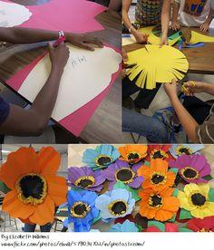 Squish Preschool Ideas: May-Flower Crafts Art For Kids, Crafts For Kids, Arts And Crafts, Paper Crafts, Kindergarten Art, Preschool Art, Spring Art, Spring Crafts, Spring Theme