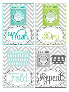 Laundry Room Printables                                                                                                                                                                                 More