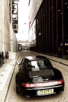 porsche 993 4s @Amsterdam