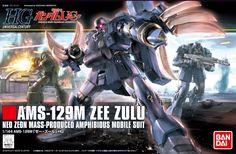 Bandai Hobby #132 AMS-129M Zee Zulu HG HGUC 1/144 Model Kit