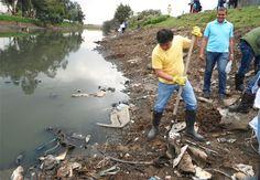 La contaminación del agua ocurre en América Latina, Asia, África,  porque cada vez más las aguas residuales son vertidas en las aguas superficiales en ríos, quebradas, lagos.