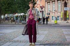 The Best Street Style From Copenhagen Fashion Week 2016\ In a Gucci belt