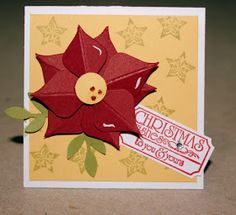 AnnMarie's Stamping Adventures!!: Envelope punch board poinsettia!