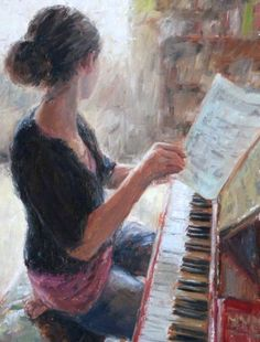 Tengo que practicar el piano. Yo estoy indiferente acerca de practica el piano.