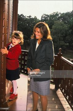 Christina Onassis And Her Daughter Athina Onassis-Roussel - On November 3Rd, 2005 - In France - Here, 1988