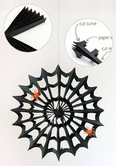 Diy halloween decorations how to make halloween crafts bat poppers pumpkin poms poms and more duration. Hooplakidz how to diy crafts play doh videos 287 268 views. Turn orange tissue paper balls into proper halloween pumpkins that can line your . Diy Halloween Party, Diy Halloween Decorations, Easy Halloween, Holidays Halloween, Halloween Crafts, Halloween Spider, Spider Decorations, Halloween Printable, Halloween Costumes