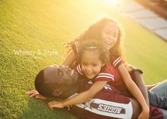 Football field A Aggies family photos: Whimsy & Style photography