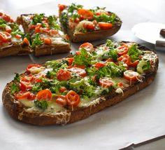 French Bread Vegetable Pizza